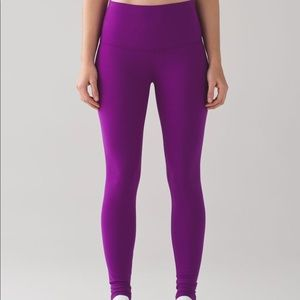 Lululemon wunder under high rise full length pant!